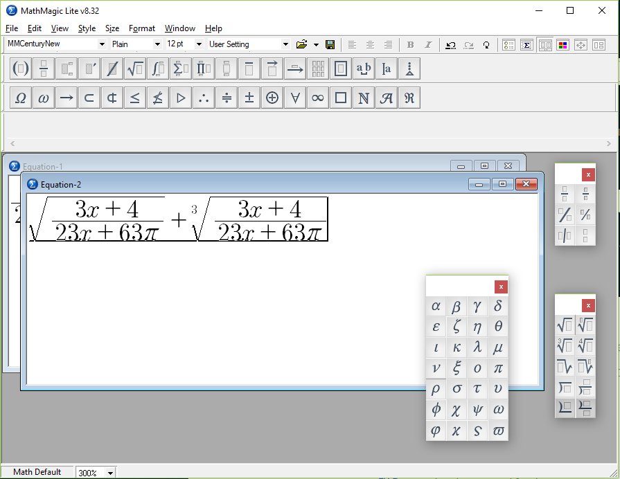 Screenshot of MathMagic Lite
